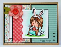 MOJO233 - Somebunny Loves You by MrsOke - Cards and Paper Crafts at Splitcoaststampers