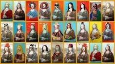 Blocartístic. Visual i Plàstica a l'Oriol Martorell | Activitats de Visual i Plàstica a primària Mona Lisa Parody, Japanese Watercolor, 5th Grade Art, Famous Artwork, Arts Ed, Italian Artist, Art Plastique, Teaching Art, Art Fair
