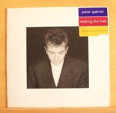 PETER GABRIEL Shaking the Tree - UK Vinyl LP Solsbury Hill Sledgehammer Biko RAR