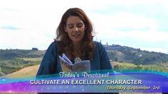 Prt A : September 03 – Cultivate An Excellent Character