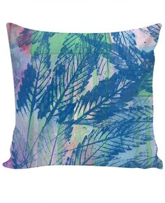 Pastel Cannabis Custom Couch Pillow