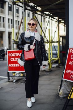 London Fashion Week Street Style Fall 2018 Day 1 - The Impression