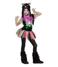 Ladies Road Kill Costume Zombie Ghoul Halloween Fancy Dress Undead Ghost