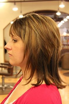 Haircuts - Women | Medium Haircuts - Heidi Mitchell. If I decide to grow out my hair.