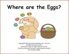 Adapted Book: Where Are the Eggs?