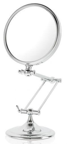 Danielle Creations 10x 1x Reversible Desk Stem Vanity Makeup Mirror D884