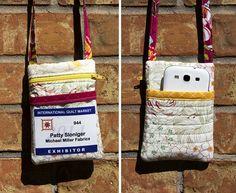 beckandlundy: Badge Holder Tutorial - great idea! I totally need one.