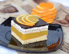 Lambada kocke super kremasti kolač koji osvaja ukusom i izgledom Sweet Recipes, Tiramisu, Cheesecake, Dessert Recipes, Cooking Recipes, Sweets, Cookies, Food, Recipes