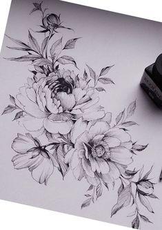 Als Melhores Tattoos de Pet Unterbauchtattoo. The post Wie Melhores Tattoos de Pet & diy tattoo images appeared first on Tattoos . Tatouage Abdomen, Abdomen Tattoo, Underboob Tattoo, Tattoo Thigh, Thigh Tattoo Flowers, Flower Neck Tattoo, Peony Flower Tattoos, Tattoo Neck, Dahlia Flower