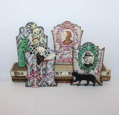 By Kristin Hubick for the Retro Café Art Gallery 2014 Tombstone Art Swap! www.RetroCafeArt.com