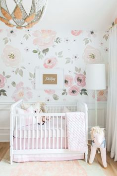 Girl Nursery by Monika Hibbs