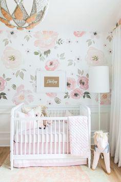 Girl Nursery by Monika Hibbs