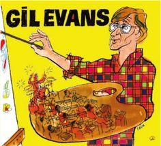 Cabu 2010 Gil Evans - Une Anthologie, 1946-1957 (Cabu Jazz Masters) [BDJazz CABU-545] #albumcover #portrait