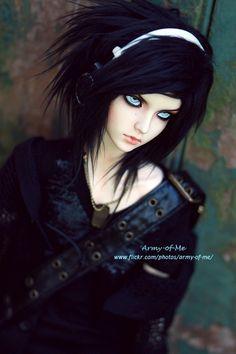 #bjd #dolls I like the hair