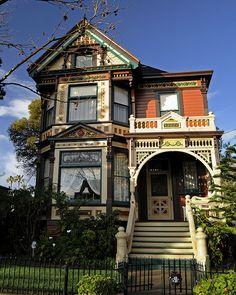 Reed Historic District Victorian, San Jose