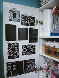 Happily Ever Crafter: Tip of the Day: Storage Solution (Stampin' Up! Framelits)