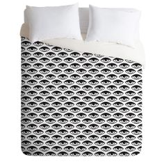 Wesley Bird Eyes on You Duvet Cover | DENY Designs Home Accessories
