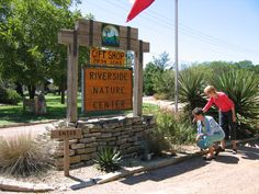In 1987 Susan Sander, the visionary behind the development of Riverside Nature Center, became intrigued by a 9-acre field of bluebonnets in downtownKerrville and was inspired to save the property from development by turning it into a public wildflower garden. This property, the Capt. Scott Whitfield homestead, was called Riverside. It was located on Water Street within a block of the site where Kerrville was founded, and was 95% covered with native plants.