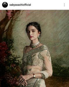 Net saree with work