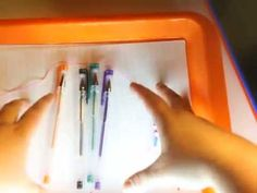 We love art trays. They can be used for so much more then Montessori Education.