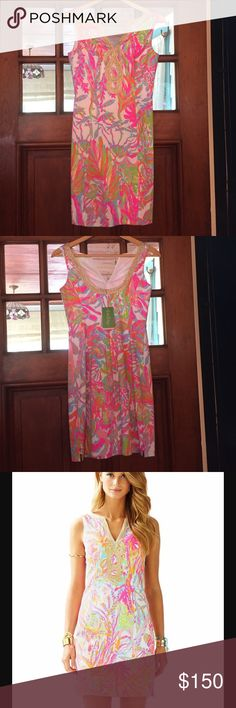NWT Scuba to Cuba Shift Dress Brand new, with tags! It is the Lilly Pulitzer Scuba to Cuba shift dress. Size 0 Lilly Pulitzer Dresses