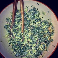 #Kale Slaw for the soul! #YUM @chefaaronbrooks @thedutchmiami