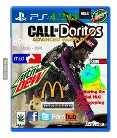 CoD: Advanced Warfare official boxart.