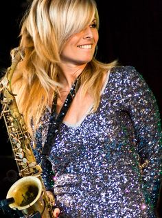Candy Dulfer - from Amsterdam, this alto saxophonist began playing at the age of… Music Pics, Jazz Music, Music Stuff, Smooth Jazz Artists, Jamie Cullum, Mavis Staples, George Duke, Sheila E, Van Morrison