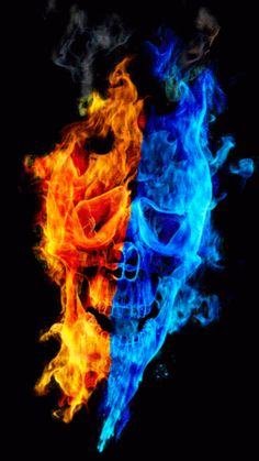 burning skull on fire animated gif image Skull Pictures, Cool Pictures, Fire N Ice, Fire Animation, Beau Gif, Skull Fire, Fire Tattoo, Ufo Tattoo, Flame Art
