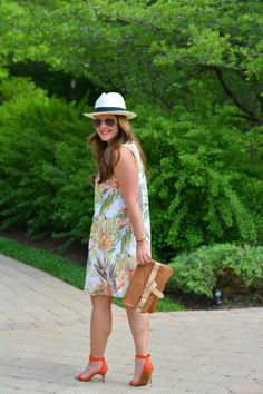 Spring Style: The Palm Print Shift Dress | A Lily Love Affair