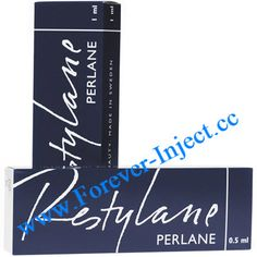 Package 1ml/piece Hyaluronic acid stabilized : 20mg/ml Restylane Perlane is a clear, injectable dermal filler gel. The hyaluronic acid in Restylane Perlane is non-animal stabilized hyaluronic acid ( NASHA ), which is stabilized for long duration, made from fermenting streptococci bacteria?it is suitable for injection into deep skin tissues for correcting deep lines, lip filler, or face lift.