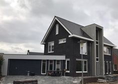113 | Net nieuw | Onze huizen | Presolid Home Dream Homes, Building A House, House Plans, Garage Doors, Mansions, Architecture, House Styles, Outdoor Decor, Home Decor
