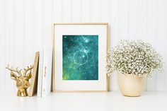 2 in 1 – Watercolor Universe by skyboxcreative on @creativemarket