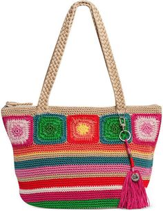 The Sak crochet purse