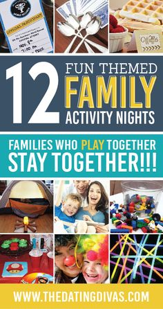 Indoor activities for the whole family to have fun together.