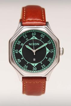 Falcon Leather Watch / by Nixon