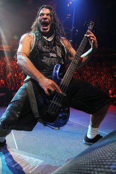 Robert Trujillo, current bassist for Metallica (formerly of Suicidal Tendencies and Infectious Grooves, among other acts).