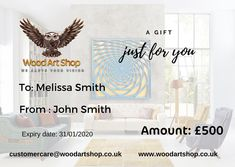 Gift Card - £100.00 GBP