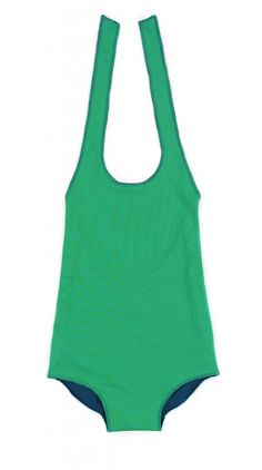 Little Creative Factory Reversible Halterneck Swimsuit – Green/Teal. This fantastic reversible swimsuit is like getting 2 for the price of 1! It feels incredible and has a cute little tag sewn onto either side for extra detail. Sale price £17.50 + Free P&P