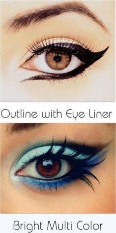 Brown Eyed Celebs  Eye Make Up For Brown Eyes  Brown Eye Make Up   Chic Factor Gazette