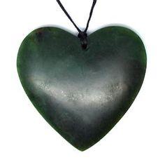 Large+NZ+Greenstone+Heart+Pendant http://www.shopenzed.com/large-nz-greenstone-heart-pendant-xidp1268038.html