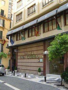 Málaga - Don Curro Hotel