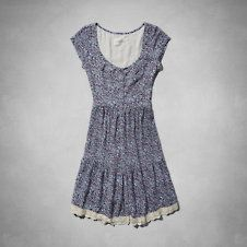 Womens Kendell Babydoll Dress
