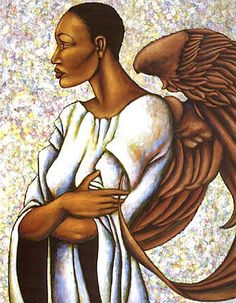 Black African Art | View our entire: African American Angel Art Collection