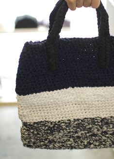 sakiami fabric crochet bag