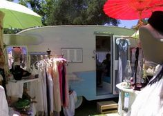 cute trailer shop this picture is giving mew ideas about my little caravan :)