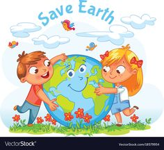 Find Save Earth April 22 Earth Day stock images in HD and millions of other royalty-free stock photos, illustrations and vectors in the Shutterstock collection. Thousands of new, high-quality pictures added every day. Save Earth Essay, Mother Earth Essay, Save Mother Earth, Save Our Earth, Funny Cartoon Characters, Cartoon Kids, April 22 Earth Day, Adobe Illustrator, Earth Day Drawing