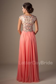 Modest Prom Dresses : Felicity