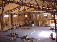 Perka Wood Steel Hybrid buildings can come in virtually any shape or size, with any outside (envelope) finish and be built just about anywhere!!  Check these out at www.perkabuildings.com or call 800-467-3752!
