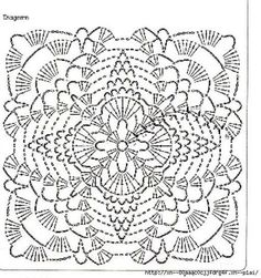 Love the second from top, Nr and fourth from top, no… lacy afghan squares, with lI love crochet lace squares.Discover thousands of images about Crochet Squares Crochet Motif Patterns, Granny Square Crochet Pattern, Crochet Diagram, Crochet Chart, Crochet Squares, Filet Crochet, Crochet Wool, Crochet Blocks, Thread Crochet